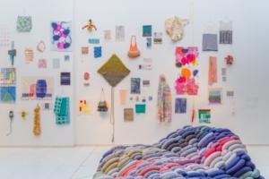 Rechts Averechts exhibition with work by alumni.